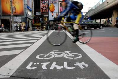 日本のいいところ-自転車