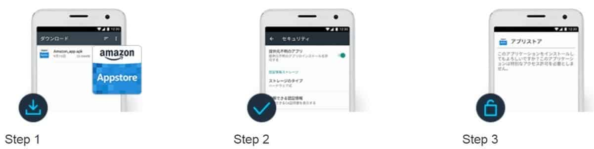 amazon アプリ 登録