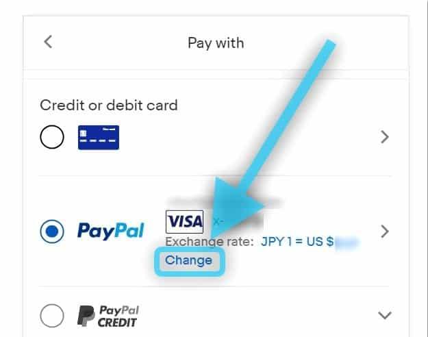 ebay 支払い